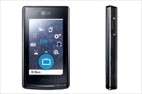 LG T80 PMP Packs in Touchscreen, DVB for Europeans