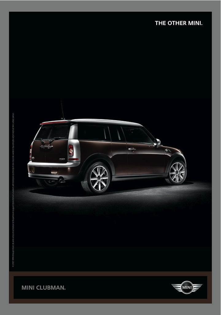 """The Other MINI"" Ad Campaign Is Clever, Somewhat Strange"