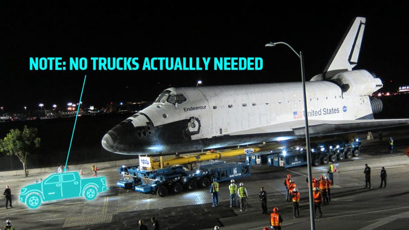 How, Exactly, Is The Toyota Tundra Going To Tow The Space Shuttle?