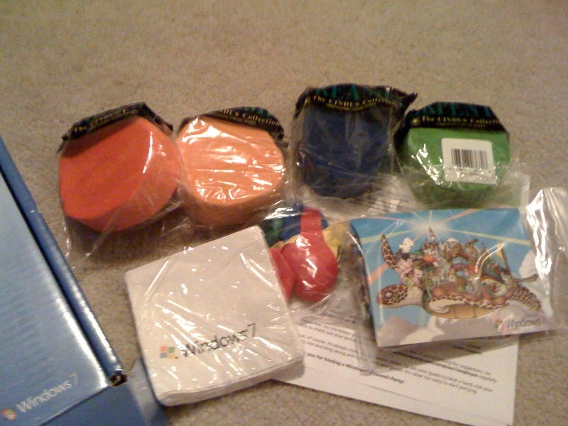 Inside the Windows 7 Launch Party Kit Hides the Worst Birthday Party Ever
