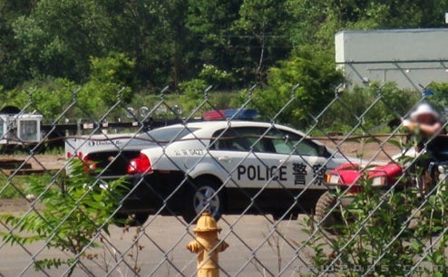 2008 Chevy Malibu, Transformed, Rolling Out...As A Chinese Police Car