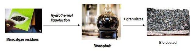 Científicos logran crear un asfalto no contaminante a base de microalgas