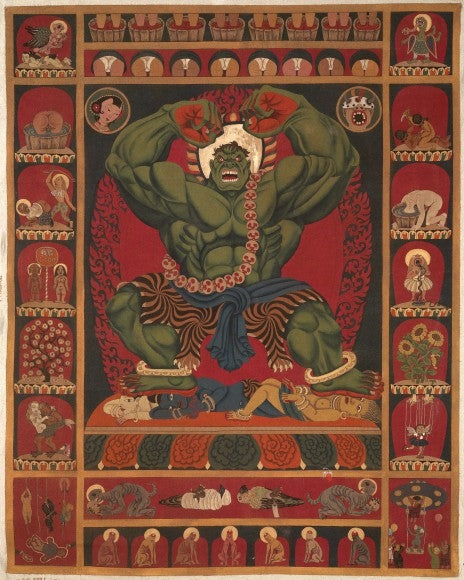 Tibetan Artist Turns Hulk And Spider-Man Into Himalayan Heroes