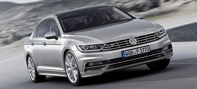 2015 Volkswagen Passat: This Is It, For Europeans