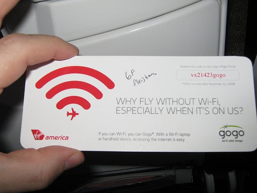 Google's Free Wi-Fi Promises to End Airplane Tranquility