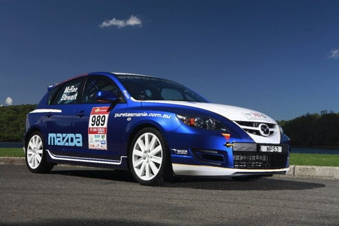 Mazda3 MPS To Tackle Targa Tasmania