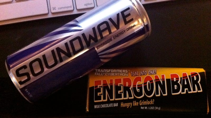 Not Exactly an Energon Cube