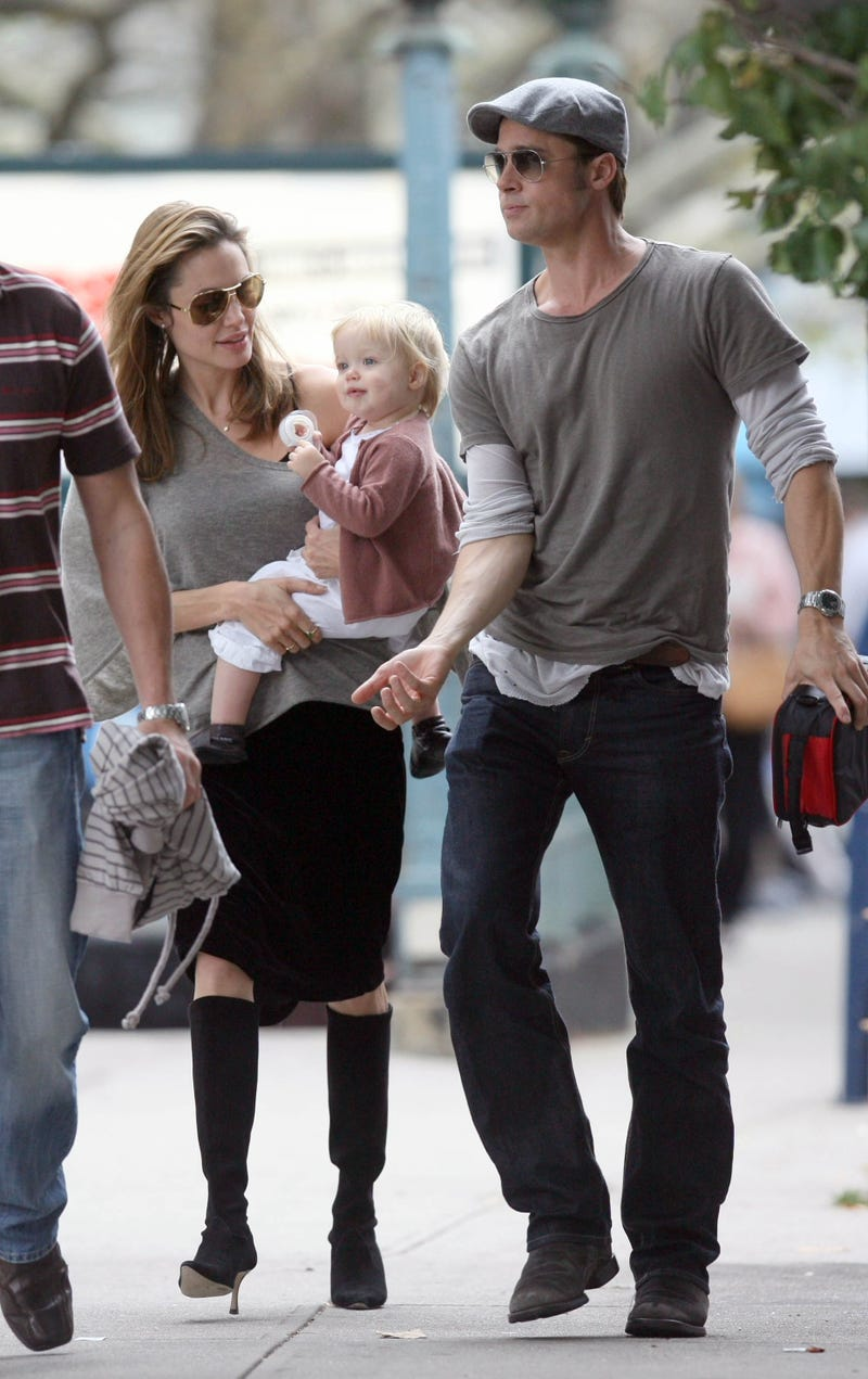 """Shiloh Jolie-Pitt's Windswept Style, """"What The Fuck?"""" Hand Gesture"""