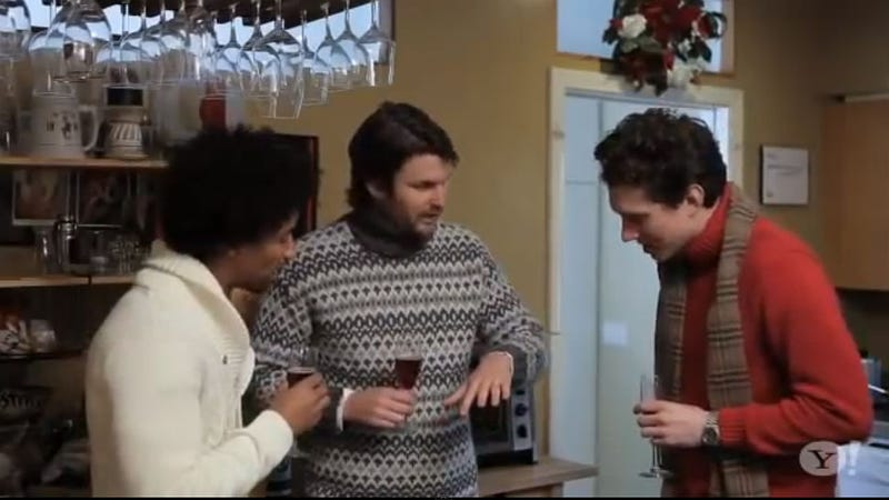 This Holiday Gender-Swap Video Is Priceless