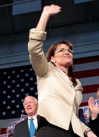 Sarah Palin Will Not Run For Re-Election, Resigning As Alaska's Governor