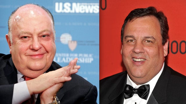 Fat Jackass Roger Ailes Thinks Fat Jackass Chris Christie Should Be President