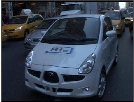 Popular Mechanics Drives The Subaru R1e Electric Car