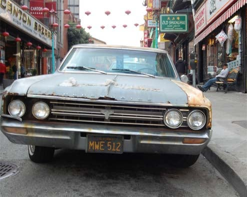 1964 Oldsmobile F-85 A Fixture In San Francisco's Chinatown