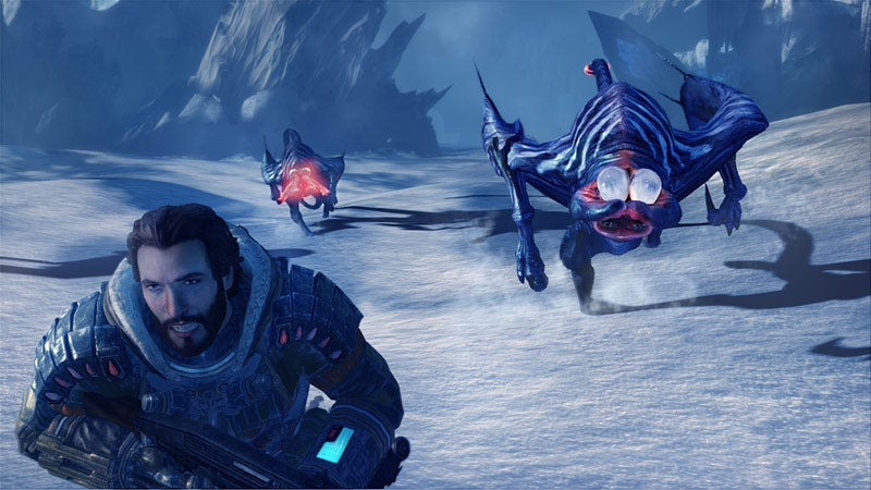Lost Planet 3 Screens Star Frightened Space Jesus
