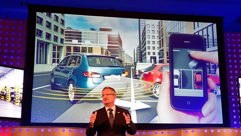 Bosch Will Soon Let You Remotely Park Your Car With Your Smartphone