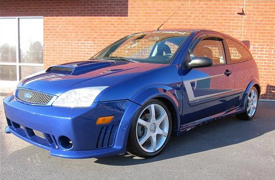 For $9,550, Go Saleen on the focus blue