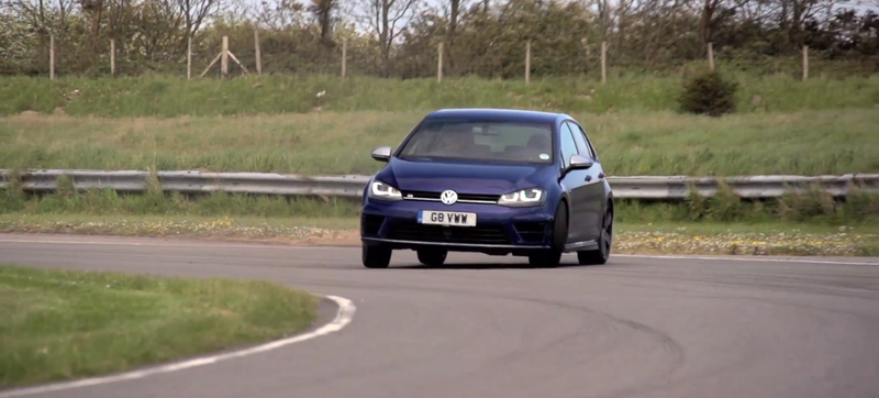 Chris Harris Pits The New Volkswagen Golf R Against The BMW M235i