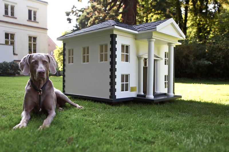 Mansions and Fine Art Made Especially for Cats and Dogs