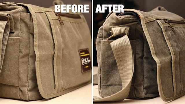 Waterproof Any Canvas Bag with Wax