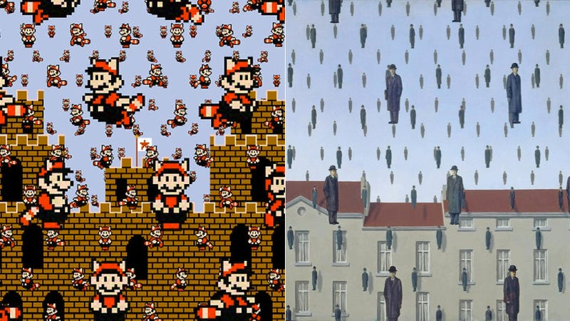 Super Mario Recreations of Famous Surrealist Paintings Are Magnifique