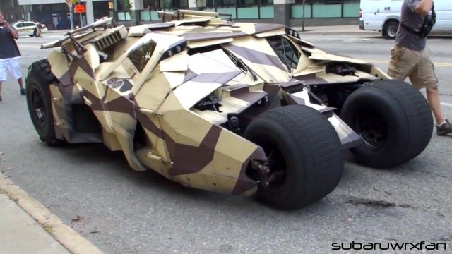 This is the new Batmobile