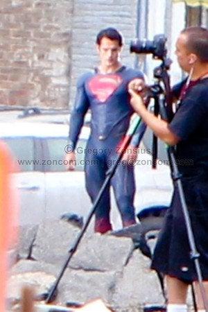 More Man of Steel set photos