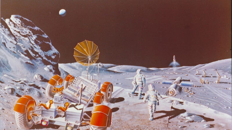Future Moon colonies could be powered by titanium