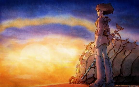 "Watch Hayao Miyazaki's early post-apocalyptic film ""Nausicaä"" online"