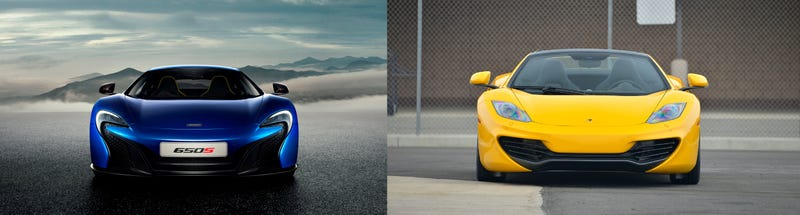 McLaren 650S vs. 12C: What has changed?