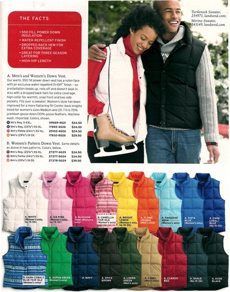 Lands' End: Practical Presents, Pleasantly Priced