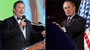 Bloomberg Responds to Alec Baldwin's Mayoral Dreams