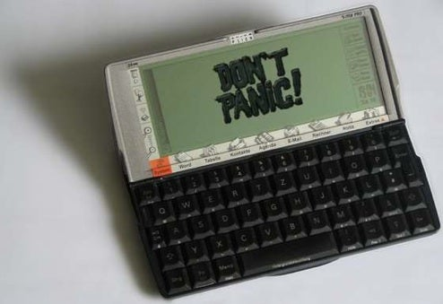 Offline Wikipedia Psion Mod is Hitchhiker's Guide to the Galaxy V1.0