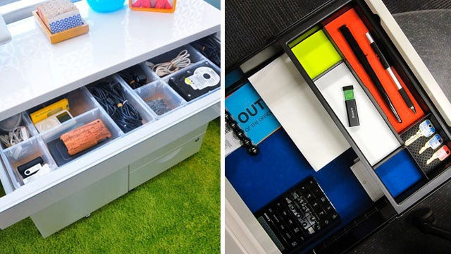 Make the Contents of Your Drawers Organized and Easy to Find with Two Paper Tricks