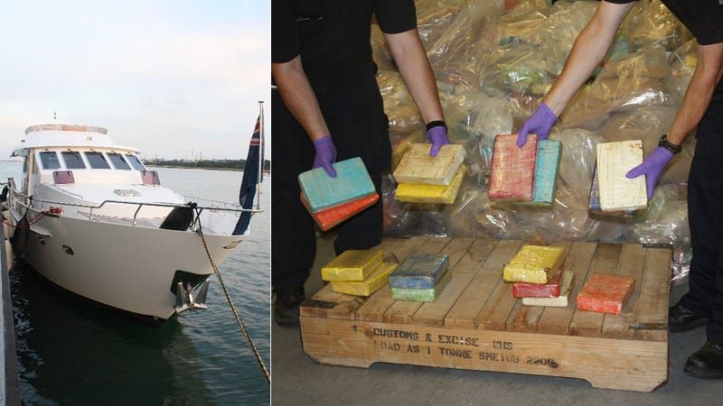 Cops Seize $500 Million of Cocaine on 'Pleasure Yacht'