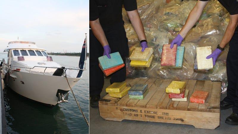 Cops Seize $500 Million of Cocaine on 'Pleasure Yacht'
