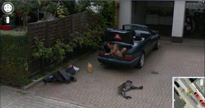 The Ten Best Google Street View Pranks