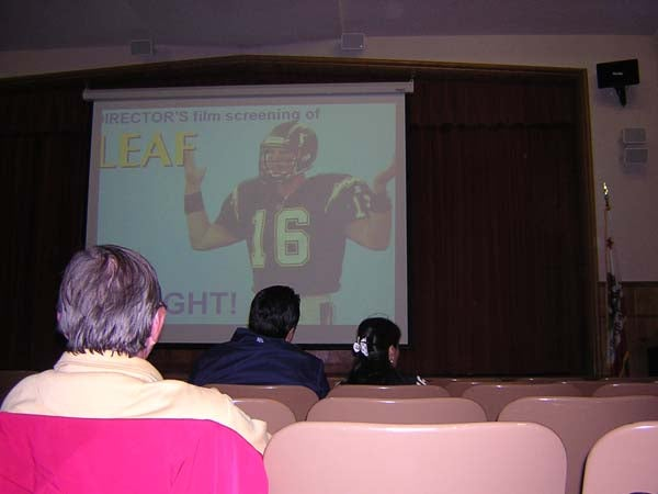 Deadspin Reader Heroically Attends Screening Of Ryan Leaf Movie