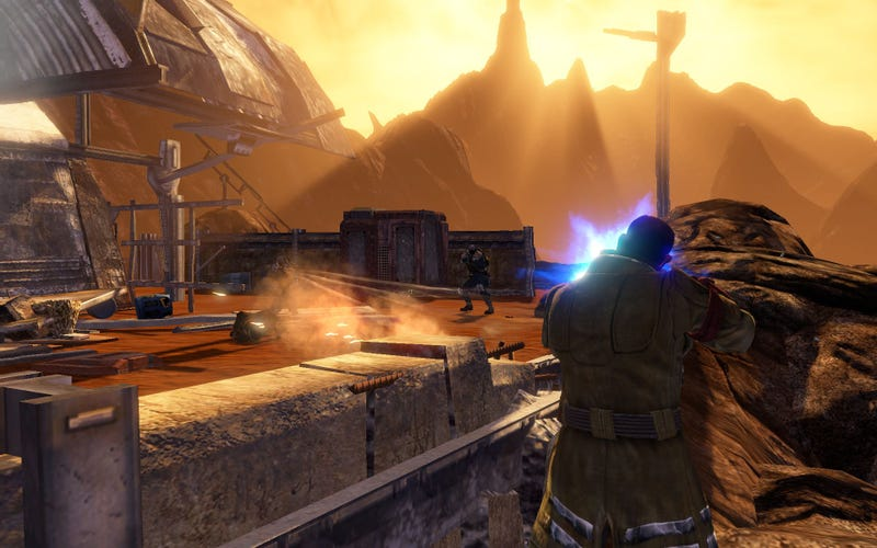 Red Faction: Guerrilla PC Preview: PC Gamers Get Best Version (If Their Rigs Can Handle It)