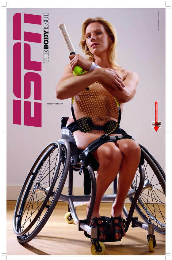 Female Athletes Get Naked For ESPN Magazine's Body Issue