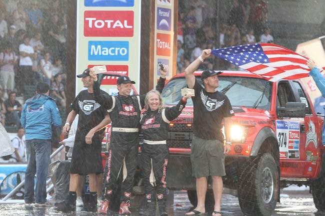 American Team Scores First U.S. Win In Dakar Class