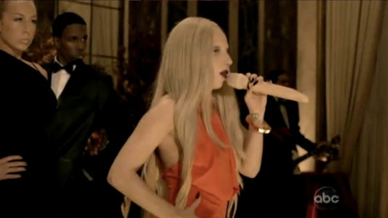 The Dildo Microphone, the Nude Sketch, and Other Lady Gaga Surprises