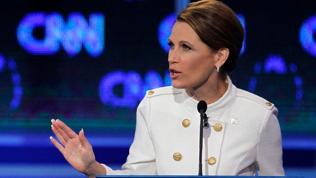 With Her Campaign Tanking, Focus Shifts To Bachmann's Fingernails