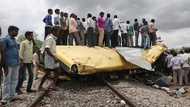18 Children Killed in India After Train Hits Their School Bus