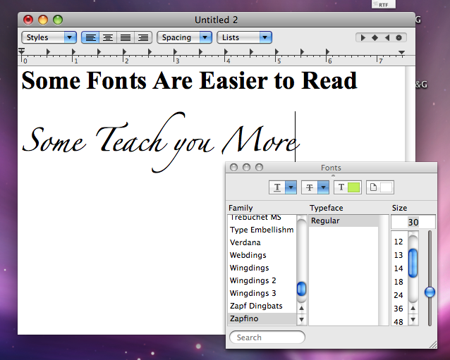 Uglier Fonts Could Mean Better Information Recollection