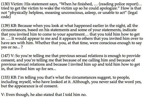 """Sensitive Politician Told Rape Victim She Had """"Buyer's Remorse"""""""