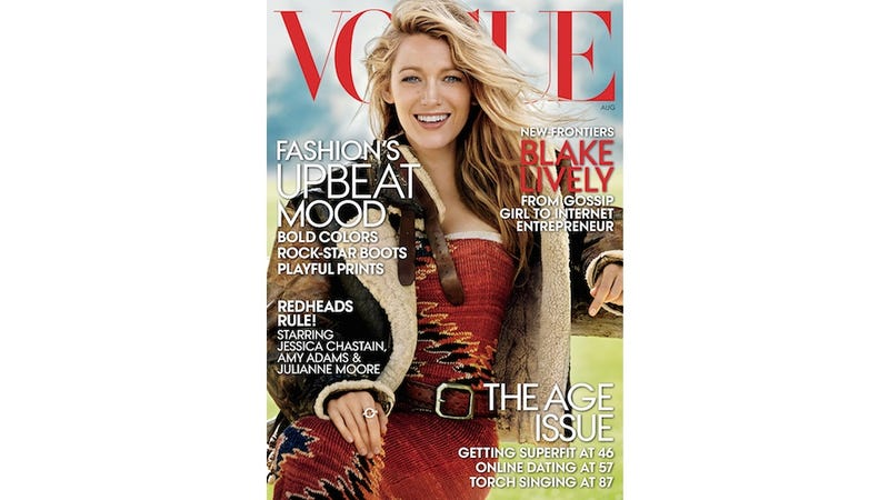 Sentences That Appeared in Blake Lively's New Vogue Interview, Ranked