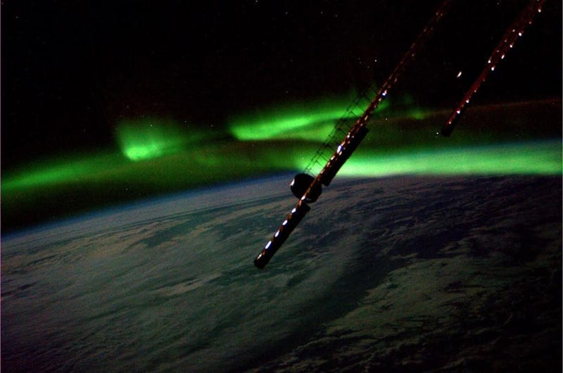 An Aurora Dances in the Latest Vine from Space