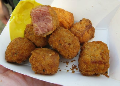 Absurd State Fair Foods: The Meatening