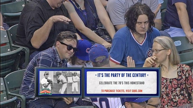 Jack White And The Chicago Cubs Experience