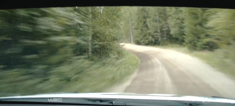 Try And Hold Your Nerve In This Lightspeed Rally Onboard